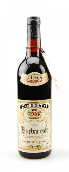 Wein 1966 Barbaresco Clemente Cossetti