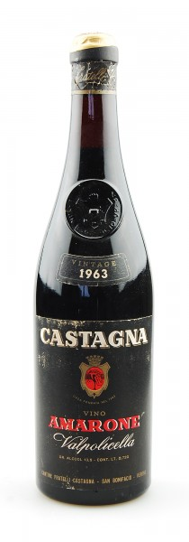 Wein 1963 Amarone della Valpolicella Castagna