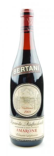 Wein 1969 Amarone Bertani Recioto della Valpolicella