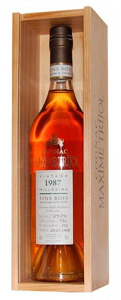 Cognac 1987 Maxime Trijol Fins Bois