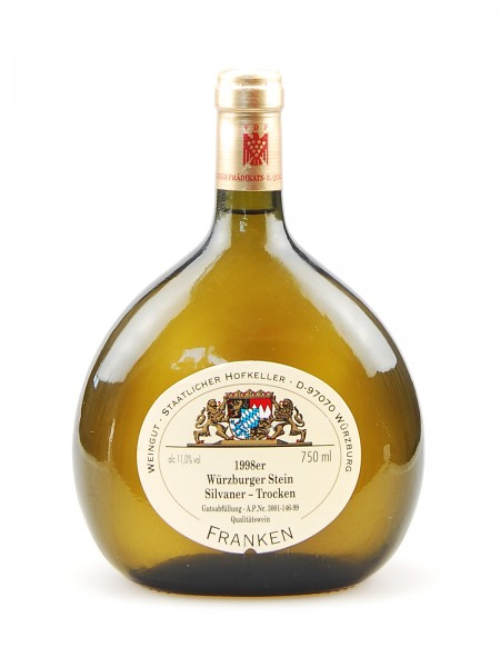 Wein 1998 Würzburger Stein Silvaner Trocken