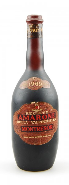Wein 1969 Amarone della Valpolicella Montresor