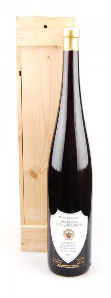 Wein 1989 Rüdesheimer Berg Rottland 1,5 Liter Riesling Auslese