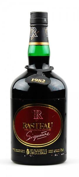 Wein 1982 Rasteau Signature