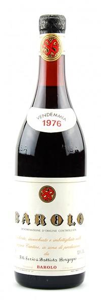 Wein 1976 Barolo F.lli Serio & Battista Borgogno