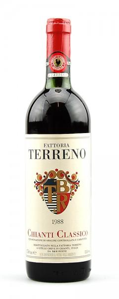 Wein 1988 Chianti Classico Fattoria Terreno
