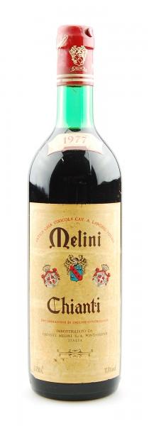 Wein 1977 Chianti Melini Pontassieve