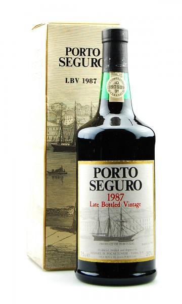 Portwein 1987 Porto Seguro Pocas LBV