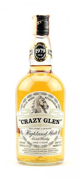 Whisky 1979 Crazy Glen Highland Malt 5 years old
