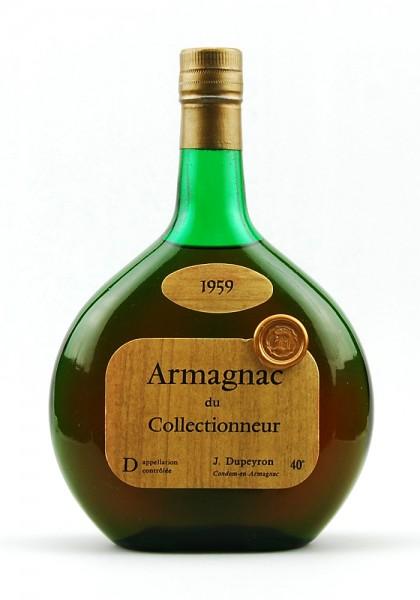 Armagnac 1959 Armagnac du Collectionneur Dupeyron