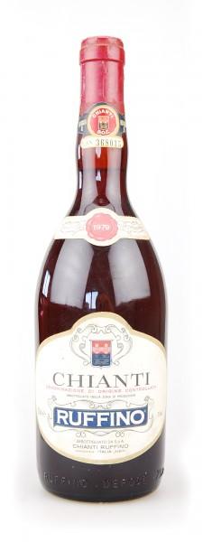 Wein 1979 Chianti Ruffino