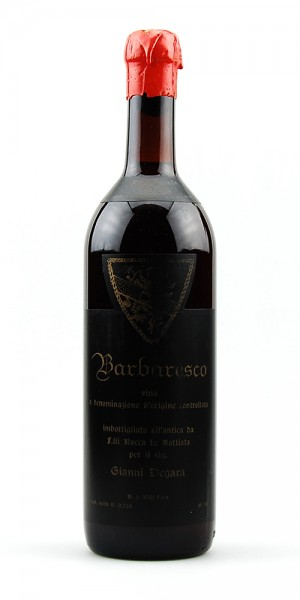 Wein 1986 Barbaresco Rocca fu Battista