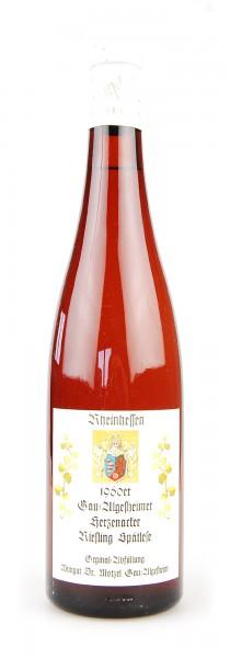 Wein 1960 Gau-Algesheimer Herzenacker Spätlese