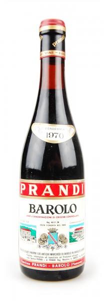 Wein 1970 Barolo Prandi - Unser absoluter Favorit!