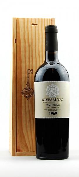 Wein 1969 Rivesaltes Riveyrac