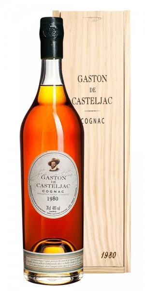 Cognac 1980 Gaston de Casteljac Grande Champagne