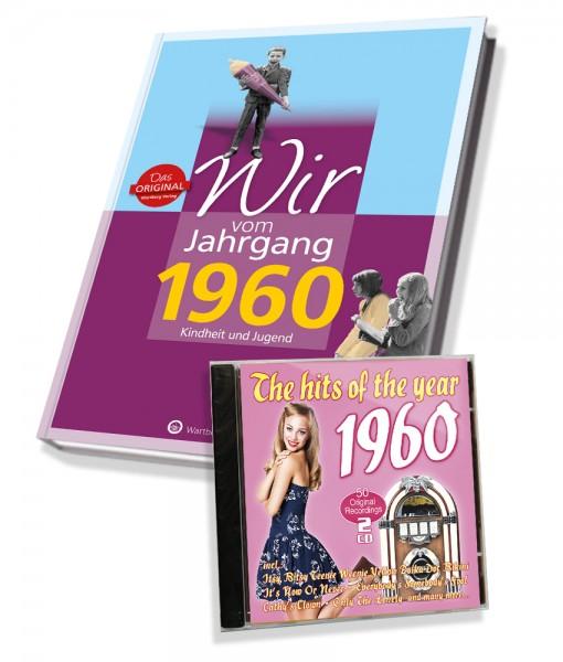 Zeitreise 1960 Wir Vom Jahrgang Hits 1960 Die Perfekte Geschenk Idee Bei Geschenkshop Deluxe Kaufen