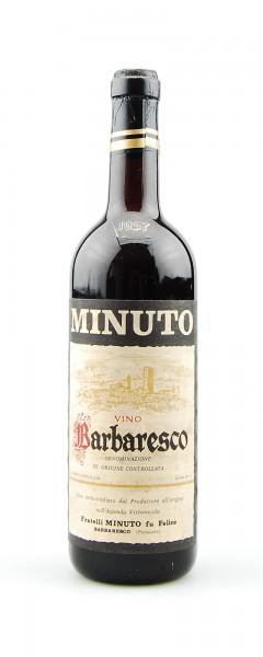 Wein 1957 Barbaresco Minuto