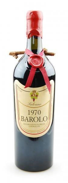 Wein 1970 Barolo Salvano
