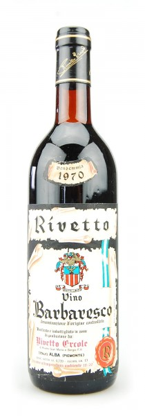 Wein 1970 Barbaresco Ercole Rivetto