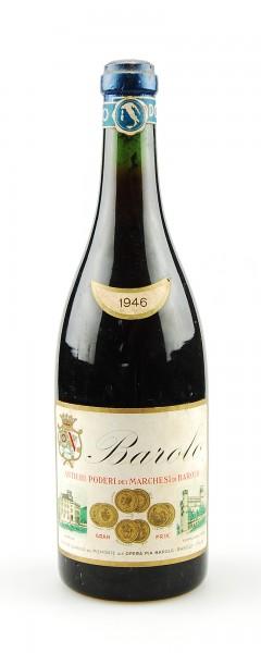Wein 1946 Barolo Marchesi di Barolo Gia Opera