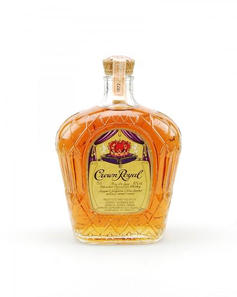 Whisky 1972 Seagram´s Crown Royal Blended Whisky