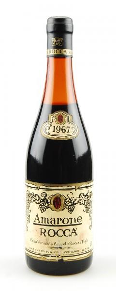 Wein 1967 Amarone Vinicola Angelo Rocca