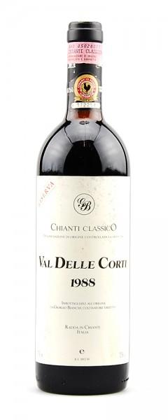 Wein 1988 Chianti Classico Val delle Corti Riserva