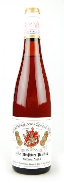 Wein 1969 Niersteiner Paterberg Ruländer Auslese