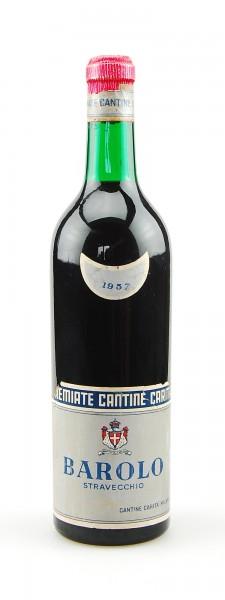Wein 1957 Barolo Stravecchio Cantine Carita