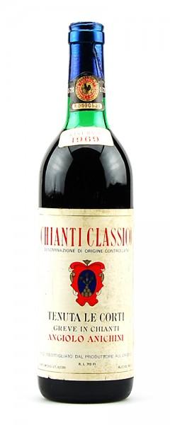 Wein 1969 Chianti Classico Riserva Tenuta le Corti