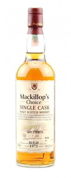 Whisky 1975 Balblair Single Highland Malt Scotch