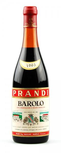Wein 1965 Barolo Prandi Tenuta Marchesi di Barolo
