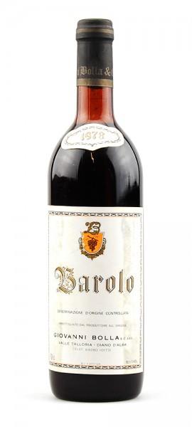 Wein 1978 Barolo Giovanni Bolla