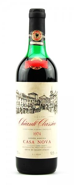 Wein 1974 Chianti Classico Riserva Casa Nova