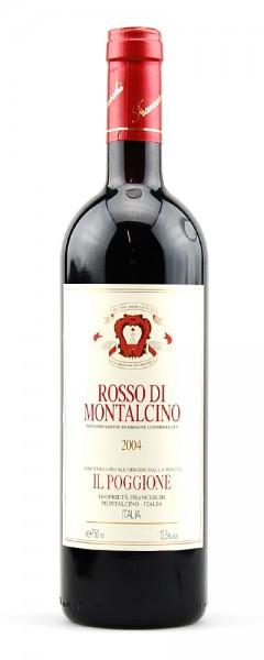 Wein 2004 Rosso di Montalcino Il Poggione