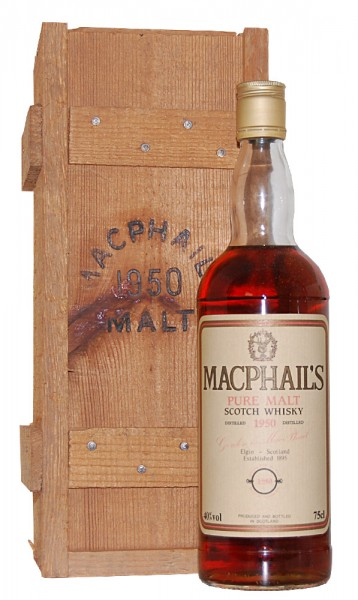 Whisky 1950 MacPhail's Pure Malt Scotch Whisky