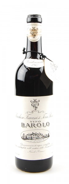 Wein 1967 Barolo Marchese Fracassi di Torre Rossano
