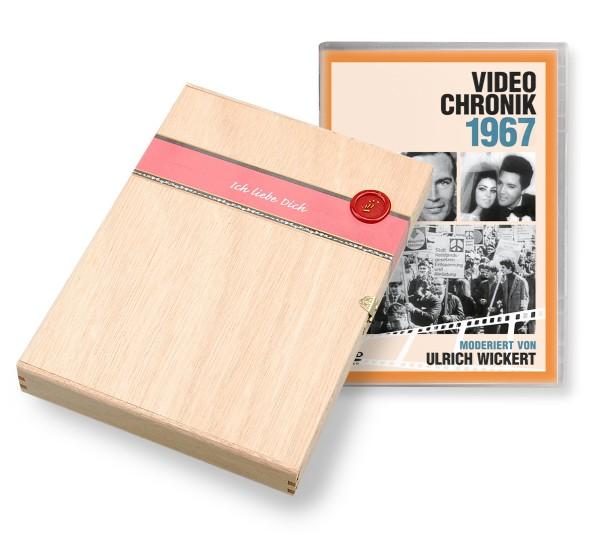 DVD 1967 Chronik Deutsche Wochenschau in Holzkiste