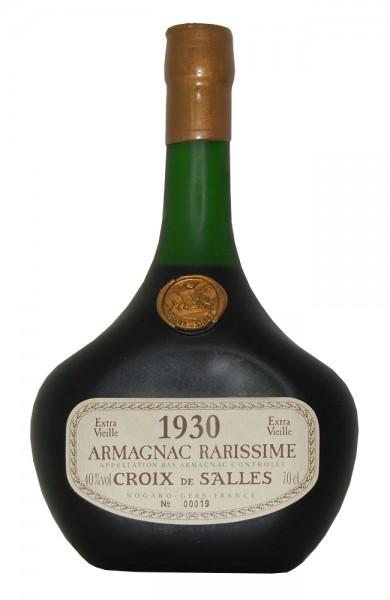 Armagnac 1930 Croix de Salles