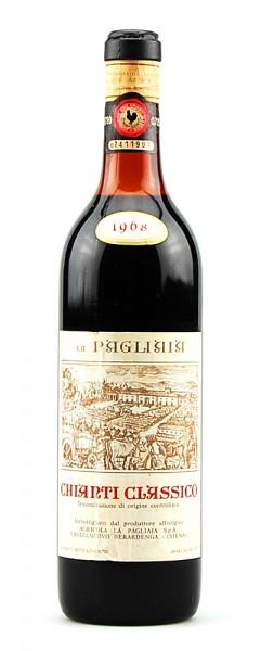Wein 1968 Chianti Classico La Pagliaia