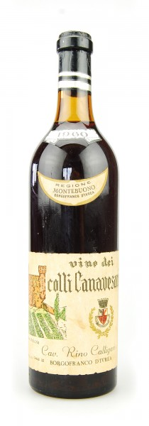 Wein 1960 Nebbiolo Colli Canavesani Calligaris
