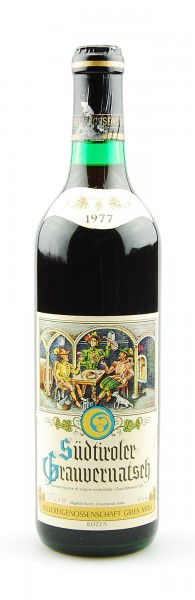Wein 1977 Südtiroler Grauvernatsch