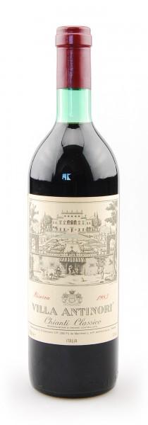 Wein 1983 Chianti Classico Riserva Villa Antinori