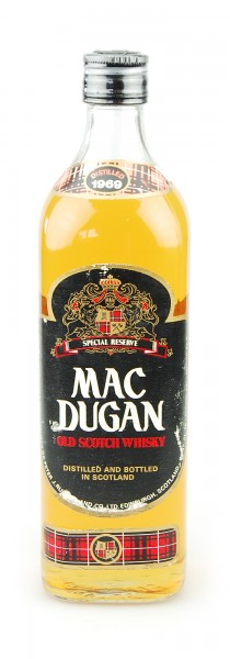 Whisky 1969 Mac Dugan Rare 5 Years Special Reserve