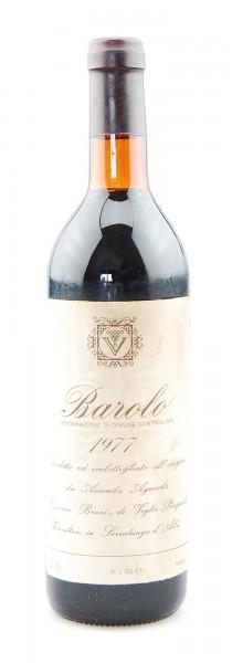 Wein 1977 Barolo Cascina Bruni