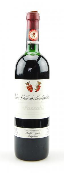 Wein 1987 Vino Nobile di Montepulciano Fassati