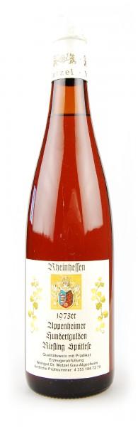 Wein 1973 Appenheimer Hundertgulden Spätlese Riesling