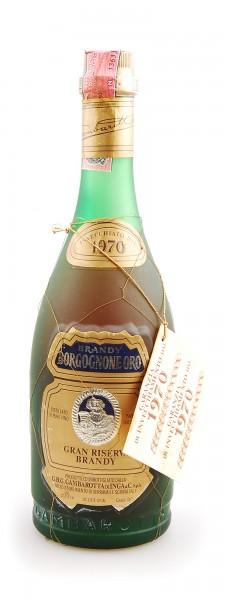 Brandy 1970 Borgognone Oro Gran Riserva Gambarotta