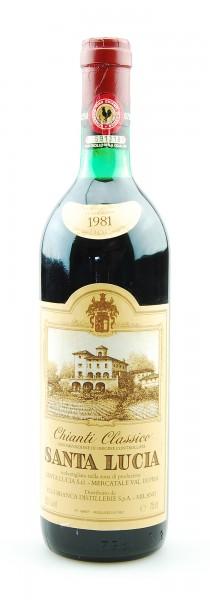 Wein 1981 Chianti Classico Santa Lucia